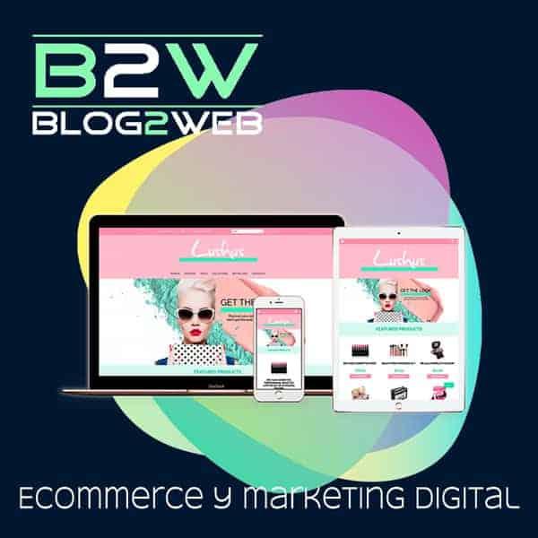 BLOG2WEB - Tu agencia de ecommerce y marketing online. Destacada.