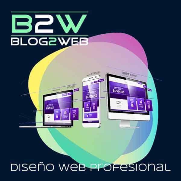 BLOG2WEB - Profesionales del diseño y creación de páginas web para tu empresa. Imagen destacada.