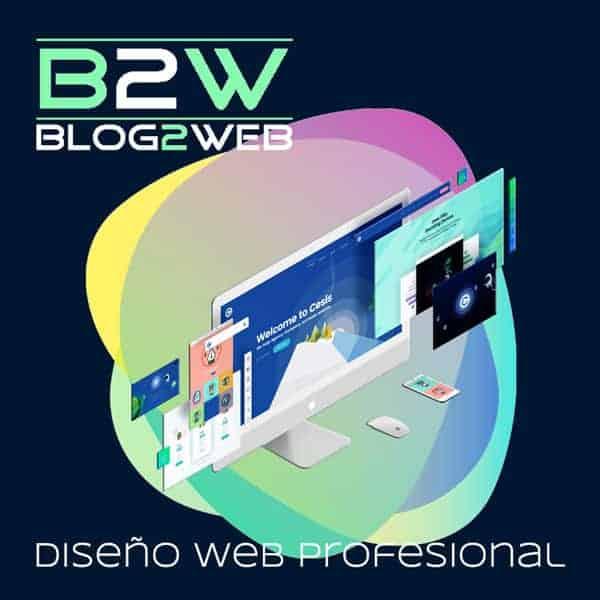 BLOG2WEB - Profesionales en diseño web al servicio de tu empresa. Imagen destacada.
