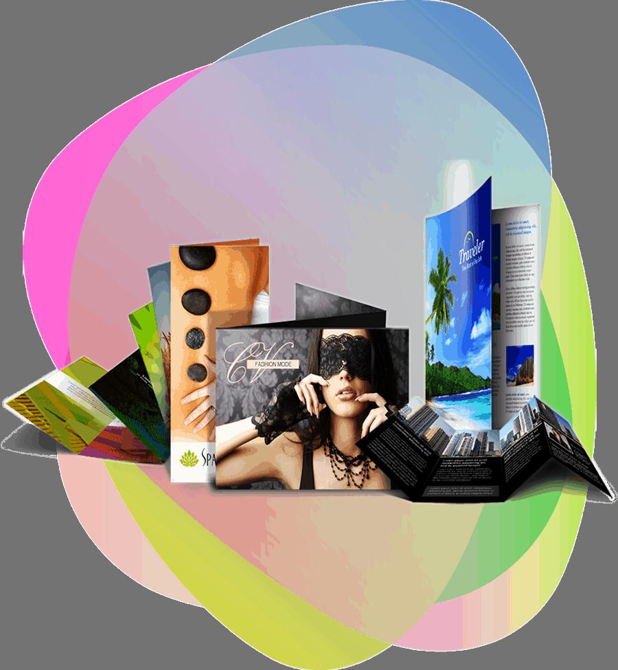BLOG2WEB - Estudio de diseño gráfico - Realización de folletos y flyers. Imagen 01.