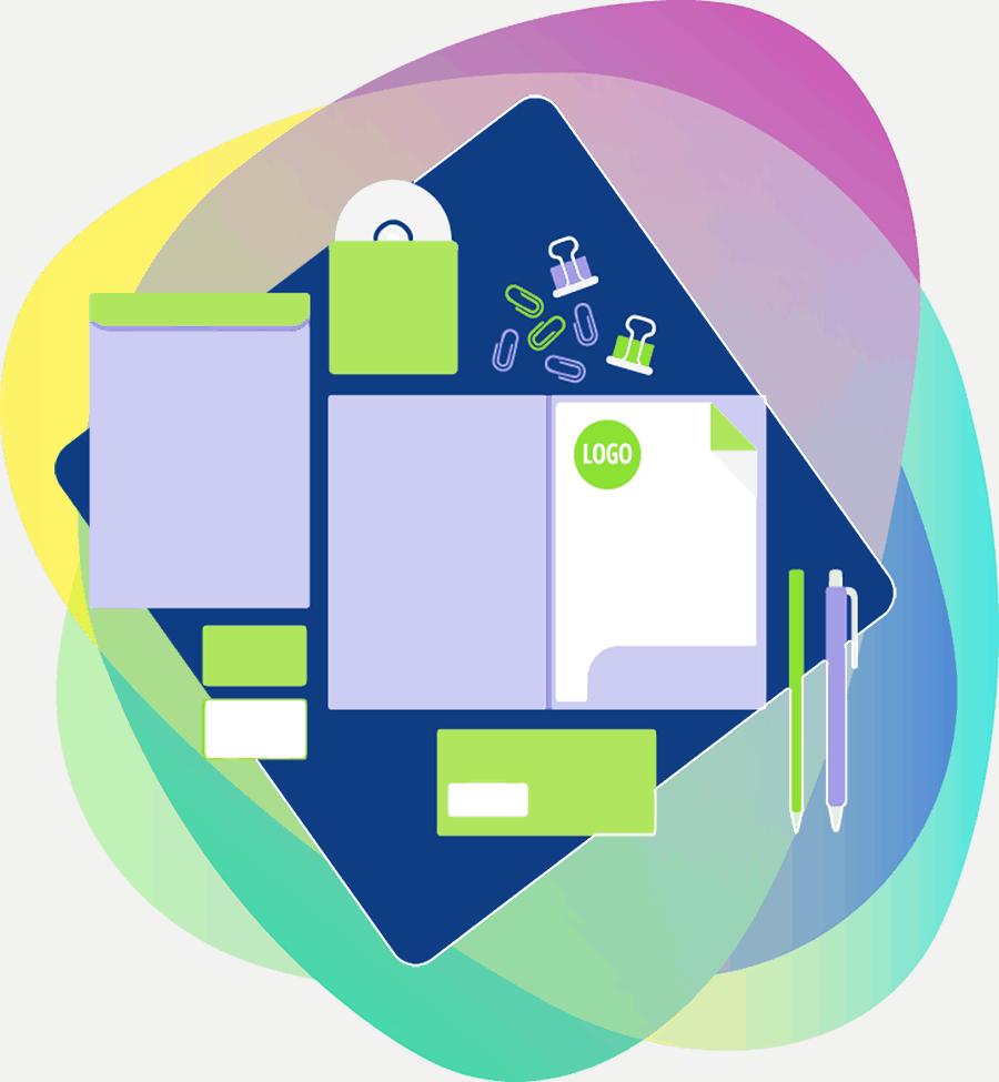 BLOG2WEB - Estudio de diseño gráfico - Imagen corporativa. Imagen 01.